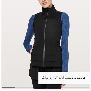 Down for a run vest! NEW!